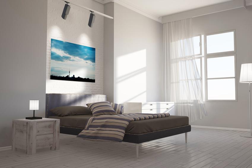 Infrarotheizung im Schlafzimmer