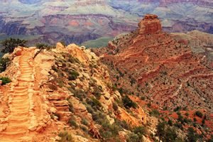 Grand Canyon, Vogelperspektive Infrarotheizung