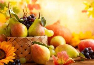 saisonale Früchte Infrarotheizung
