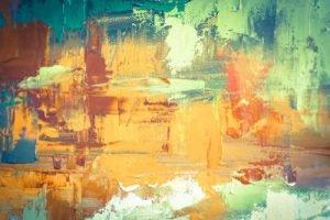 Ölfarben abstrakt Infrarotheizung
