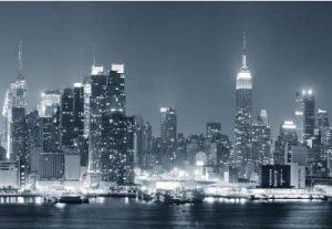 Manhattan schwarz-weiss Infrarotheizung